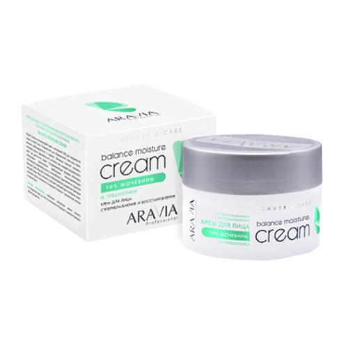 Крем для лица суперувлажнение и восстановление с мочевиной (10%) и пребиотиками Balance Moisture Cream, 150 мл