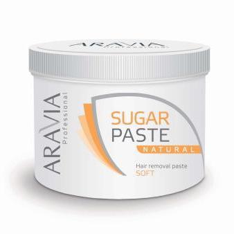 """Сахарная паста для депиляции """"Натуральная"""" мягкой консистенции, 750 мл"""