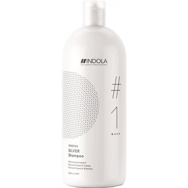 Нейтрализующий шампунь Indola Silver для волос, 1500 мл