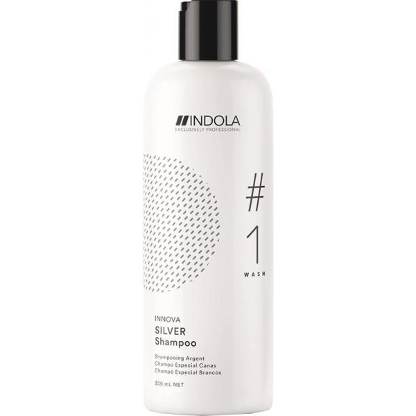 Нейтрализующий шампунь Indola Silver для волос, 300 мл