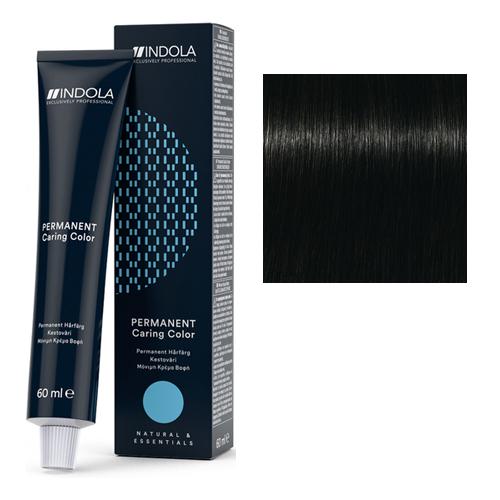 Стойкая крем-краска для волос 1.0 Черный