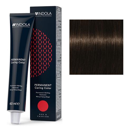 Стойкая крем-краска для волос RED&FASHION 3.8 Темный коричневый шоколадный