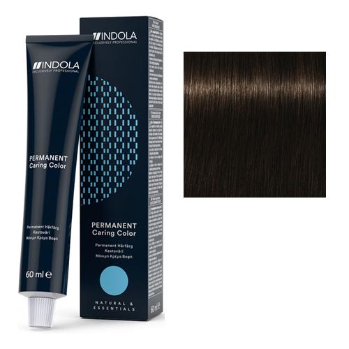 Стойкая крем-краска для волос 4.0 Средний коричневый натуральный