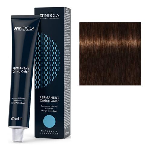 Стойкая крем-краска для волос 4.35 Средний коричневый золотистый махагон