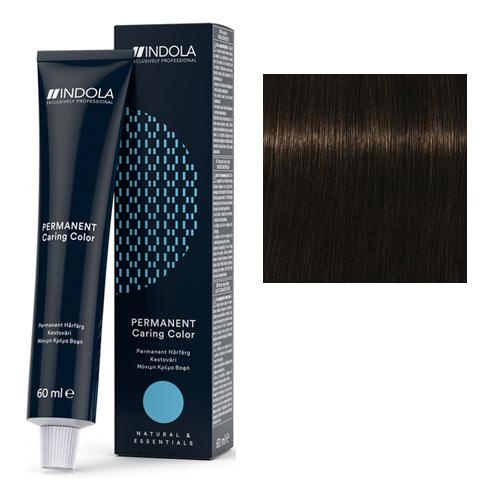 Стойкая крем-краска для волос 4.38 Средний русый золотистый шоколадный