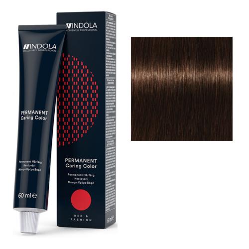 Стойкая крем-краска для волос RED&FASHION 4.80 Средний коричневый шоколадный натуральный