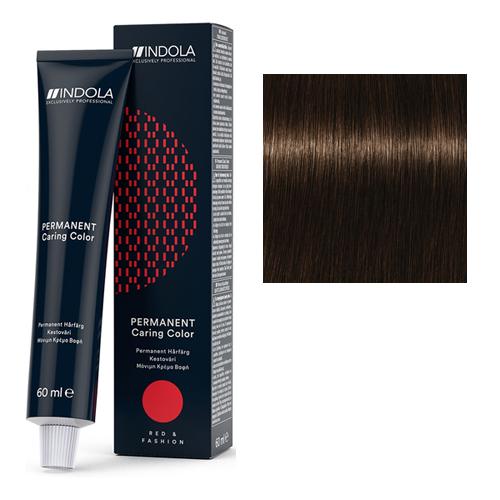 Стойкая крем-краска для волос RED&FASHION 4.86 Средний коричневый шоколадный красный