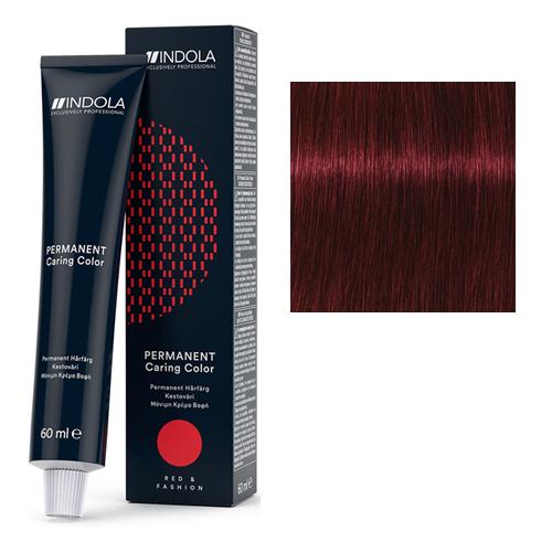 Стойкая крем-краска для волос RED&FASHION 5.66х Светлый коричневый красный экстра