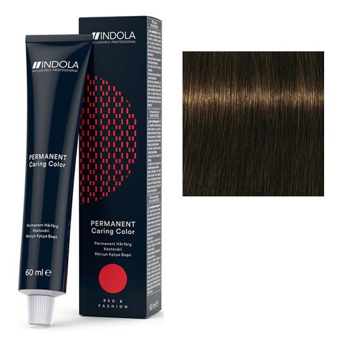 Стойкая крем-краска для волос RED&FASHION 5.82 Светлый коричневый шоколадный перламутровый
