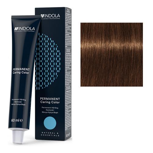 Стойкая крем-краска для волос 6.35 Темно русый золотистый махагон