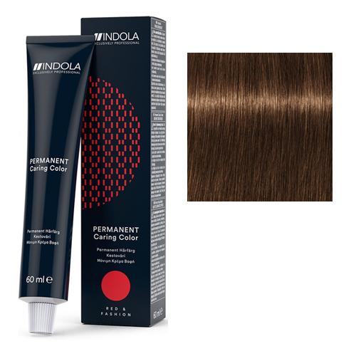 Стойкая крем-краска для волос RED&FASHION 6.83 Темный русый шоколадный золотистый