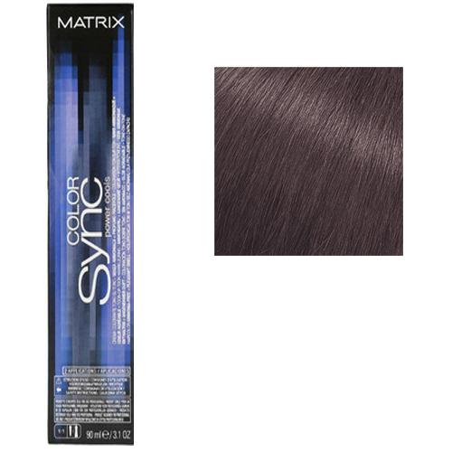 Color Sync Power Cools Крем-краска для волос 7VA, средний блондин перламутрово-пепельный, 90 мл