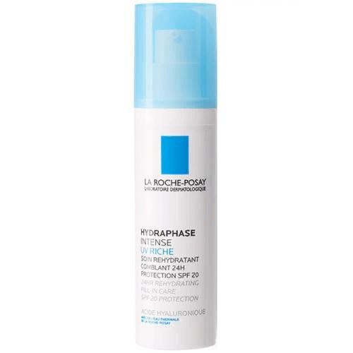 Флюид интенсивный увлажняющий Hydraphase UV Intense Riche SPF 20 для лица, 50 мл