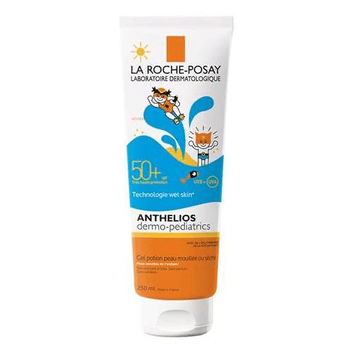 Гель солнцезащитный Anthelios Wet Skin SPF 50+ для лица и тела детей, 250 мл