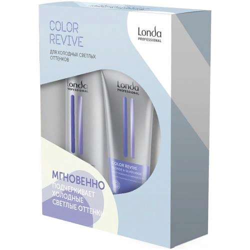 Набор подарочный Color Revive Blonde & Silver, шампунь, 250 мл + маска, 200 мл