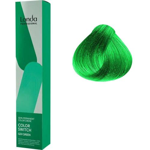 Color Switch Краска оттеночная для волос, зеленый