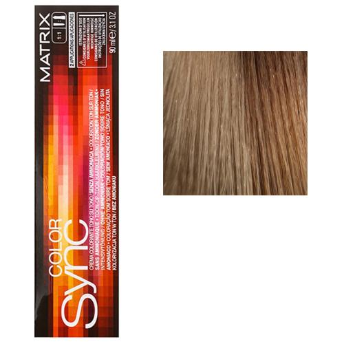 Color Sync Крем-краска для волос 10M, очень-очень светлый блондин мокка, 90 мл