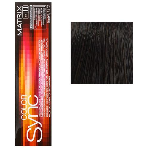 Color Sync Крем-краска для волос 3N, темный шатен, 90 мл