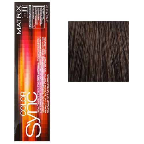 Color Sync Крем-краска для волос 5N, светлый шатен, 90 мл