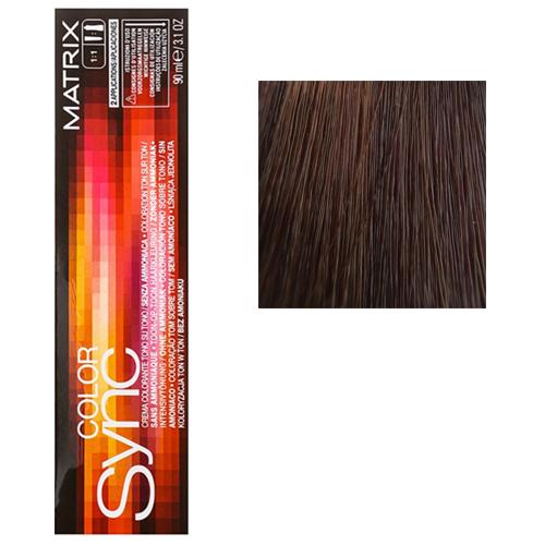 Color Sync Крем-краска для волос 6BC, темный блондин коричнево-медный, 90 мл