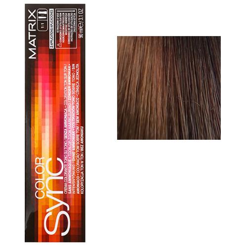 Color Sync Крем-краска для волос 6M, темный блондин мокка, 90 мл