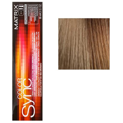 Color Sync Крем-краска для волос 6MG, темный блондин мокка золотистый, 90 мл