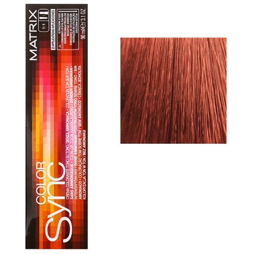 Color Sync Крем-краска для волос 7CC+, блондин глубокий медный+, 90 мл