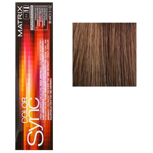 Color Sync Крем-краска для волос 7MM, блондин мокка мокка, 90 мл