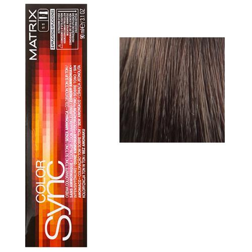 Color Sync Крем-краска для волос 7WM, блондин теплый мокка, 90 мл