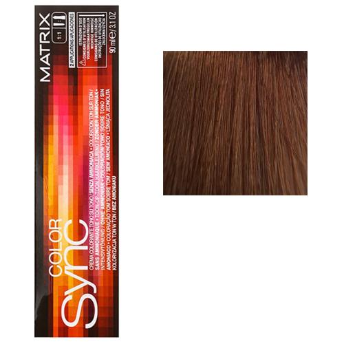 Color Sync Крем-краска для волос 8BC, светлый блондин коричнево-медный, 90 мл
