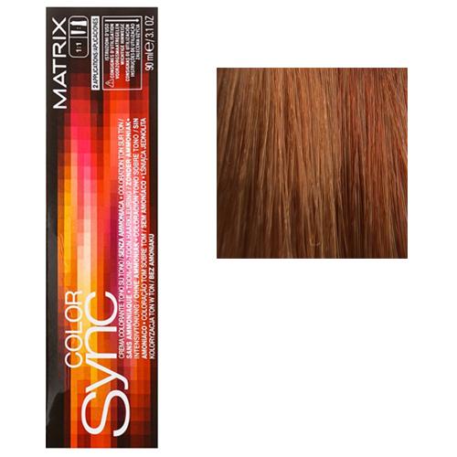 Color Sync Крем-краска для волос 8CG, светлый блондин медно-золотистый, 90 мл