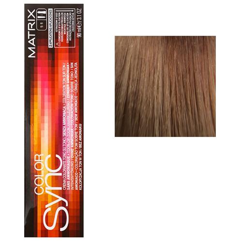 Color Sync Крем-краска для волос 8M, светлый блондин мокка, 90 мл