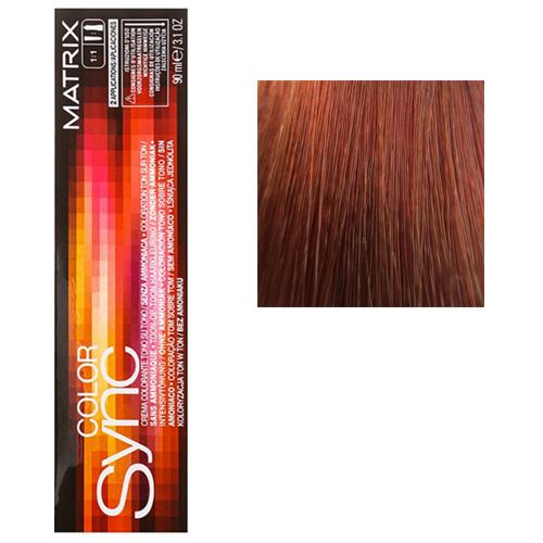 Color Sync Крем-краска для волос 8RC+, светлый блондин красно-медный+, 90 мл