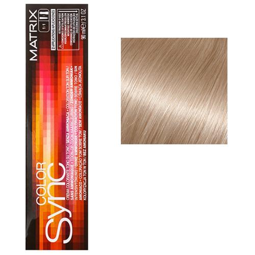 Color Sync Крем-краска для волос SPGV, пастельный золотистый перламутровый, 90 мл