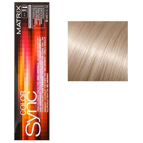 Color Sync Крем-краска для волос SPM, пастельный мокка, 90 мл