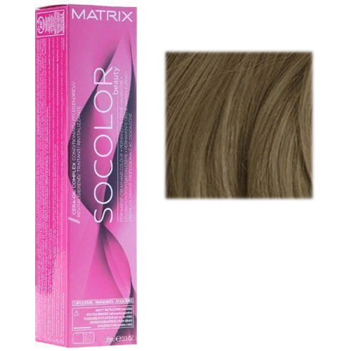 Перманентный краситель для волос 5A светлый шатен пепельный