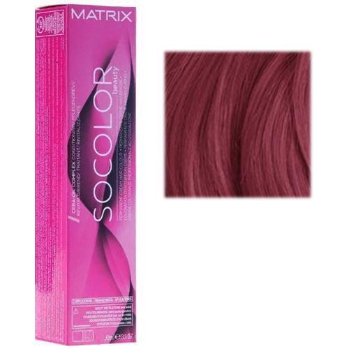 Перманентный краситель для волос 6VR темный блондин перламутрово-красный