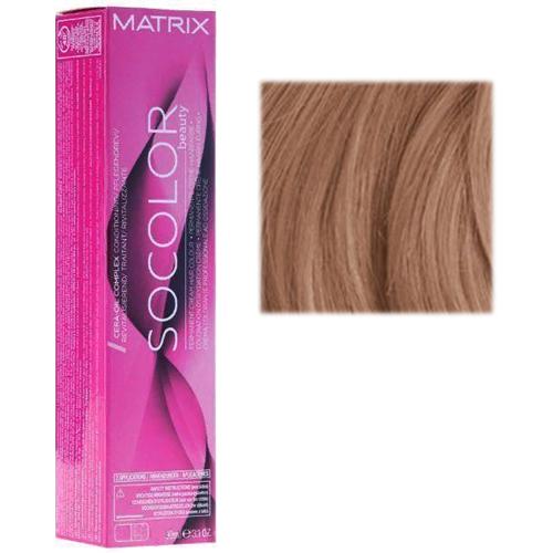 Перманентный краситель для волос 7BC блондин коричнево-медный