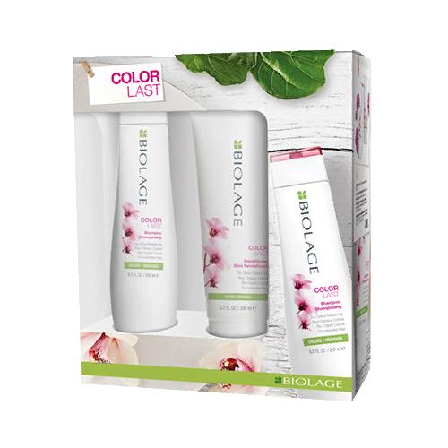 Colorlast Набор для защиты цвета волос, шампунь 250 мл + кондиционер 200 мл