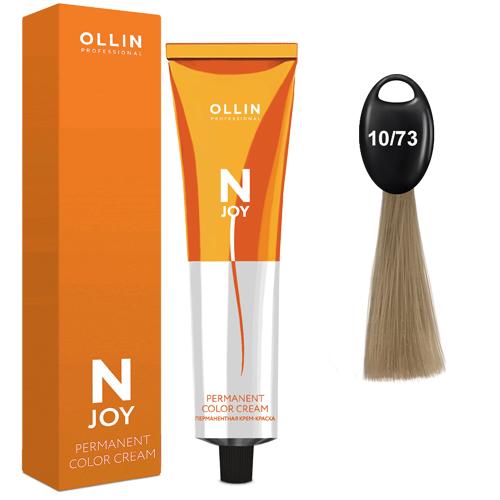 N-JOY Крем-краска для волос 10/73 светлый блондин коричнево–золотистый