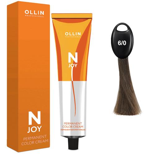 N-JOY Крем-краска для волос 6/0 темно-русый