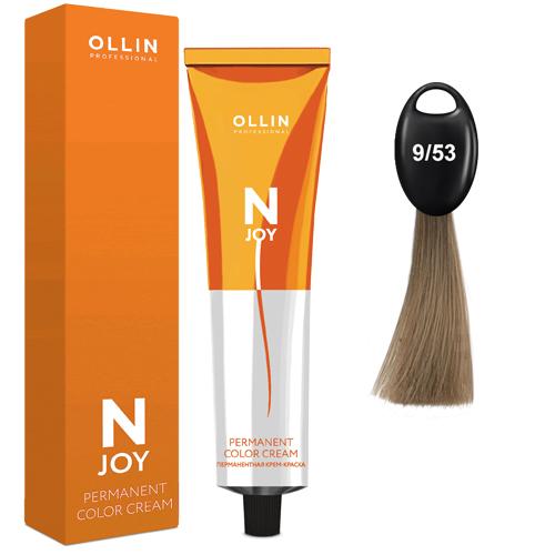 N-JOY Крем-краска для волос 9/53 блондин махагоново-золотистый
