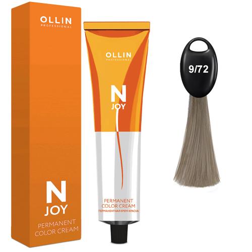 N-JOY Крем-краска для волос 9/72 блондин коричнево-фиолетовый