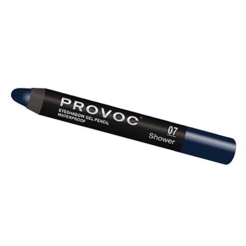 Тени-карандаш водостойкие 07 сапфировый, шиммер