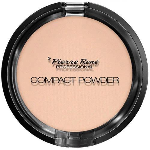 Пудра тональная компактная Compact Powder с натуральными маслами для сухой кожи, оттенок 03, 8 г