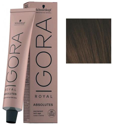 Igora Royal Absolutes 4-60 Крем-краска Средний коричневый шоколадный натуральный, 60 мл