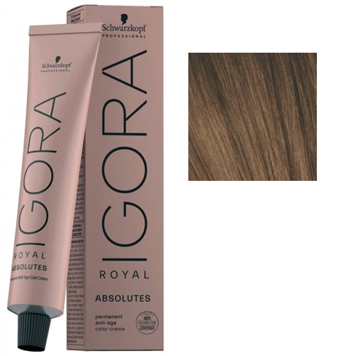 Igora Royal Absolutes 6-60 Крем-краска Темный русый шоколадный натуральный, 60 мл
