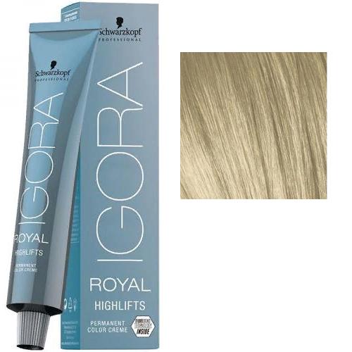Igora Royal Hightlifts 10-0 Крем-краска Экстрасветлый блондин натуральный, 60 мл