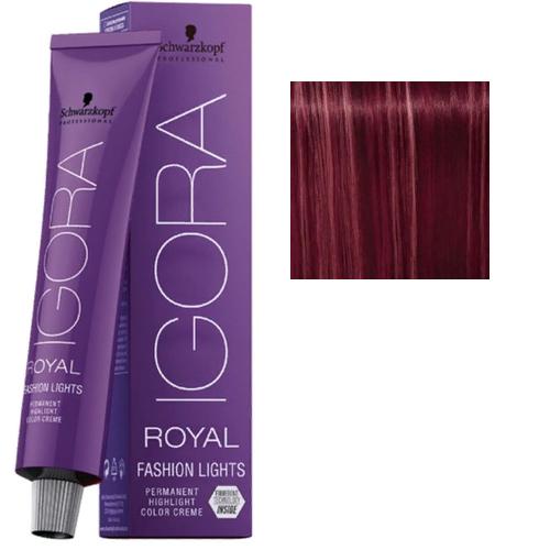 Igora Royal Fashion lights L-89 Краска для колорирования Фиолетово-красный, 60 мл