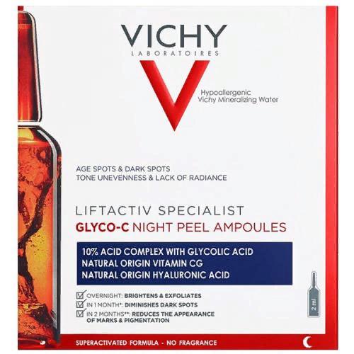 Сыворотка-пилинг ночного действия Liftactiv Specialist Glyco-C в ампулах, 10 шт